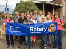 Rotary Ramblers enjoy evening walk